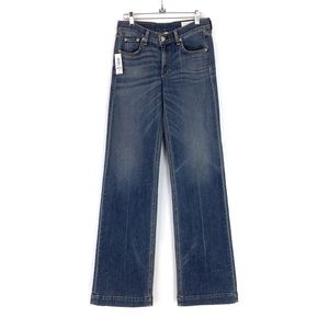 Rag & Bone New York Brick Lane Wide Leg Jeans 27